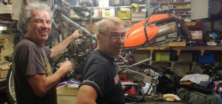 Für den neuen Motor braucht es Männer mit Weitblick.