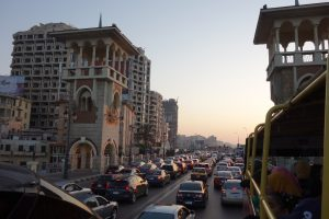 Rushhour in Alexandria
