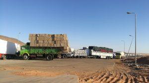Grenze bei Abu Simbel