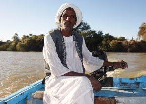 Sudanedischer Bootsmann