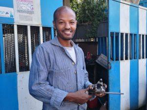 Metallwerstatt in Äthiopien