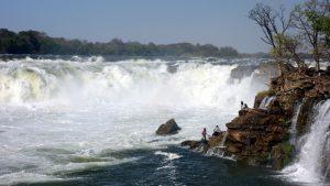 Ngonye Wasserfälle